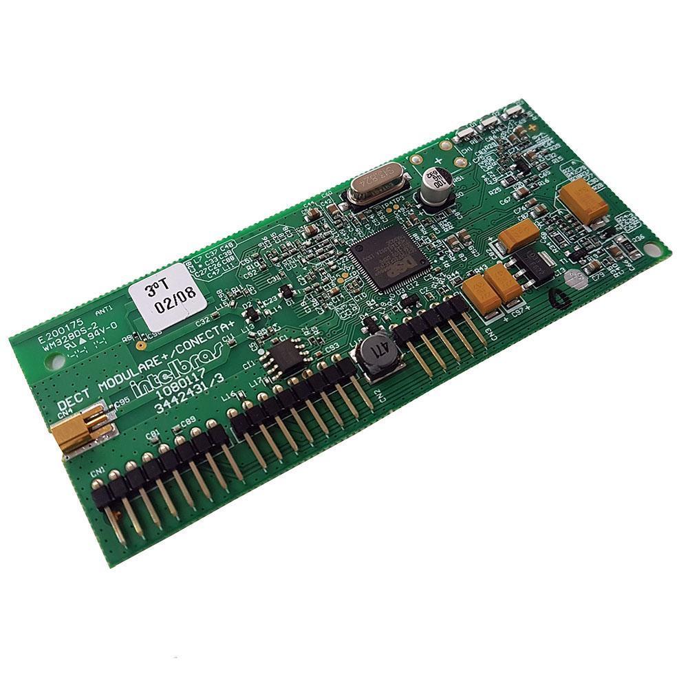 Placa Ramal sem fio Dect (5RM) - Conecta + ou Modulare + - JS Soluções em Segurança