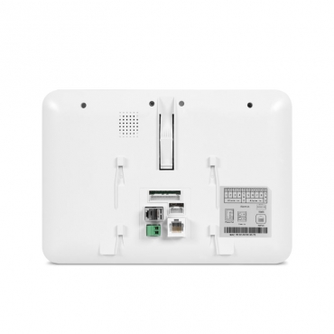 Terminal de vídeo IP intelbras  branco TVIP 2000 HF - Touch Screen - JS Soluções em Segurança