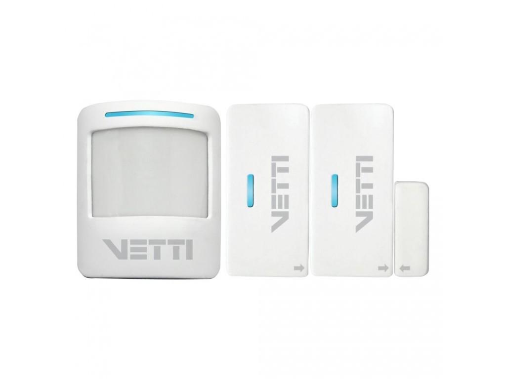 Kit Alarme Sem Fio Smart VETTI com bateria - JS Soluções em Segurança