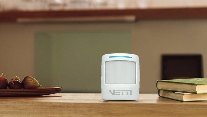 Smart Sensor de presença sem fio Vetti - JS Soluções em Segurança