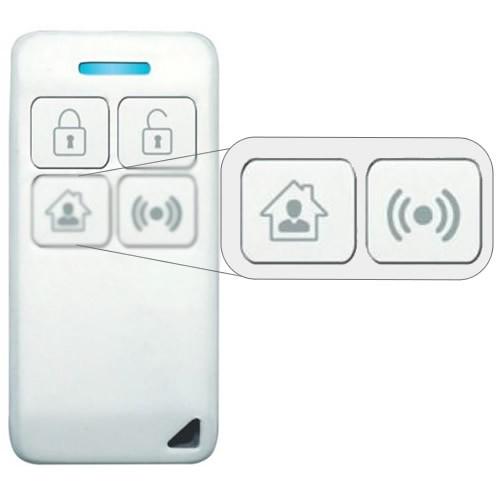 Smart Controle remoto 4 teclas Vetti - JS Soluções em Segurança