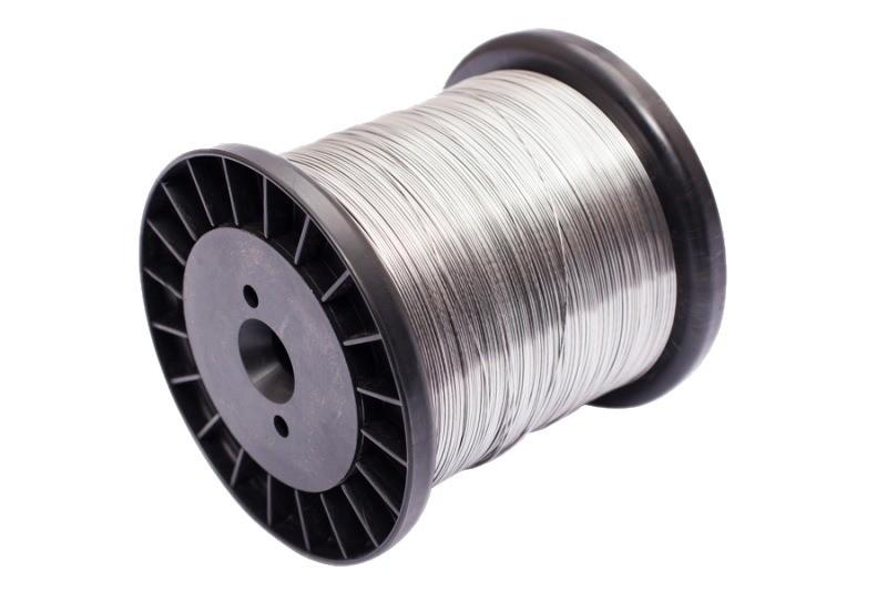 Fio Aço Galvanizado Cerca Elétrica Fio 0,60mm Bob 250mts - JS Soluções em Segurança
