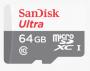 Mémoria SD Card Scan Disk casse 10 de 64 GB