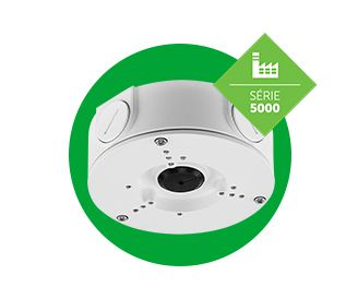 Caixa de passagem para CFTV VBOX 5000 E - Metalica Externa IP66 - JS Soluções em Segurança