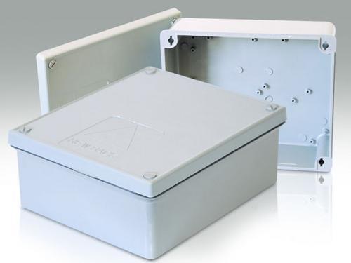 Caixa Organizadora para CFTV (Média) ABS UV 160X115X75 - JS Soluções em Segurança
