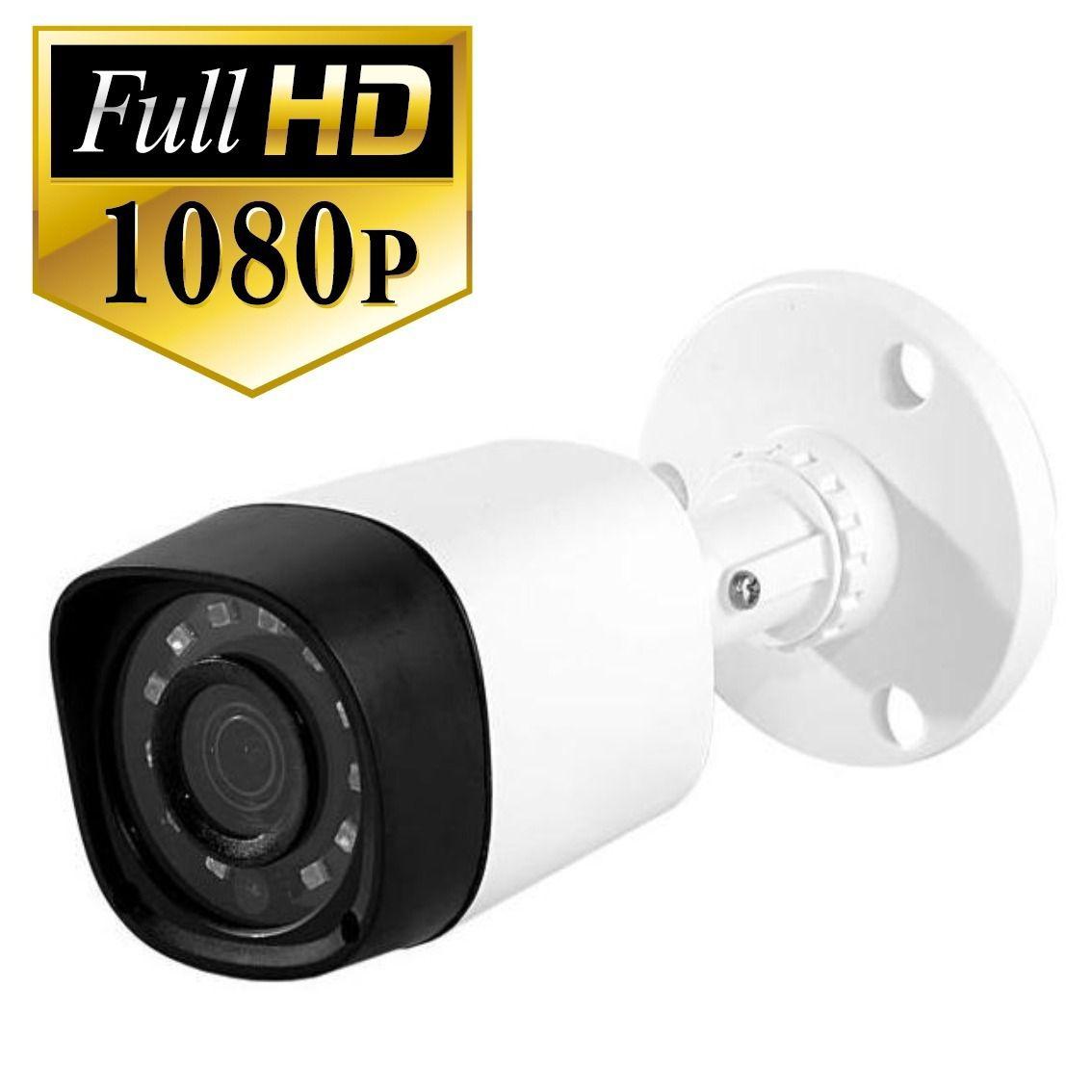 Câmera Bullet infra AHD-M Full HD 2.0 Megapixels IR CUT 30mts 2.8mm 1080p - JS Soluções em Segurança
