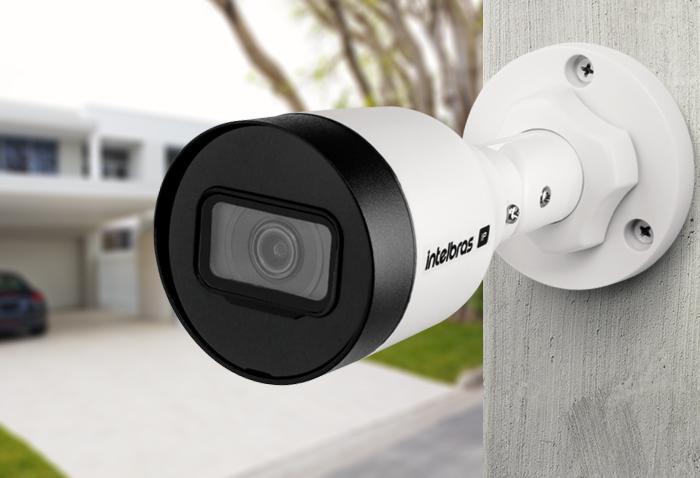 Câmera Bullet infra IP HD 1.0 Megapixel 3.6mm 1/2.7 PoE/ BLC/ HLC/ DWDR IP67 Onvif H.265 intelbras VIP 1130 B - JS Soluções em Segurança