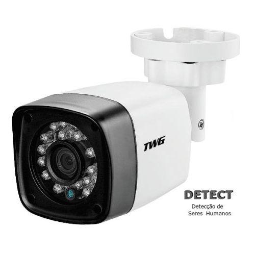 Câmera Bullet infra vermelho AHD/ TVI/ CVI e OSD 1.0 megapixel 2.8mm 20mts 720p - JS Soluções em Segurança