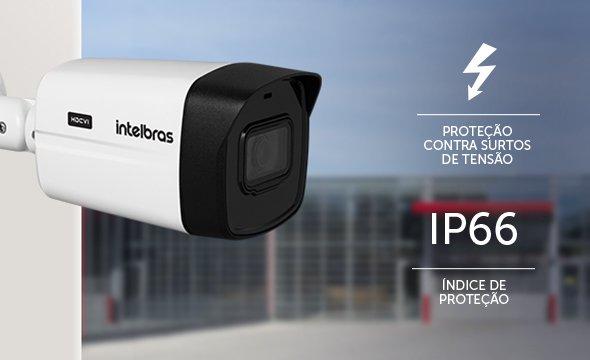 "Câmera Bullet infra vermelho HDCVI 1/2.7""2.8mm  8 Megapixels 2160p 110º 30mts VHD 5830 B 4K - JS Soluções em Segurança"
