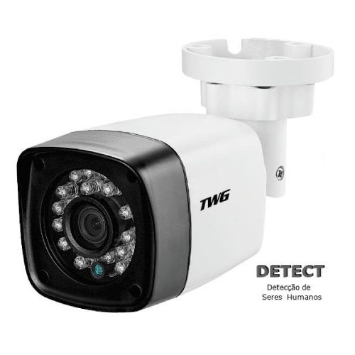 Câmera Bullet infra XVI/ AHD/ CVI/ TVI e CVBS 3.6mm 1/3 4x1 20mts Full HD 1080p   - JS Soluções em Segurança