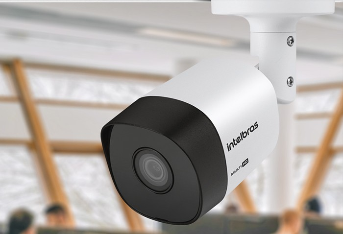 Câmera bullet Multi HD HDCVI, AHD-M, HDTVI e Analógico 1/2.8 3.6mm 20mts 98º 720p VHD 3120 B G6 - JS Soluções em Segurança