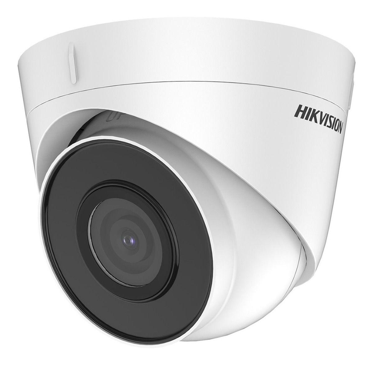 Câmera Dome Hikvision IP IR 30mts 2 Megapixels 2.8mm Full HD Hikvision DS-2CD1323G0-I - JS Soluções em Segurança