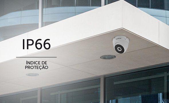 "CÂMERA DOME INFRA HDCVI,TVI,AHD E ANALÓGICA 20MTS 720p 1/2.7"" 3,6MM 97° IP66 MULTI-HD INTELBRAS VHD 3120 D G5 - JS Soluções em Segurança"