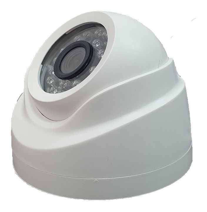 Câmera Dome infra HD IP 1 Megapixel 2.8mm 720p Onvif - JS Soluções em Segurança