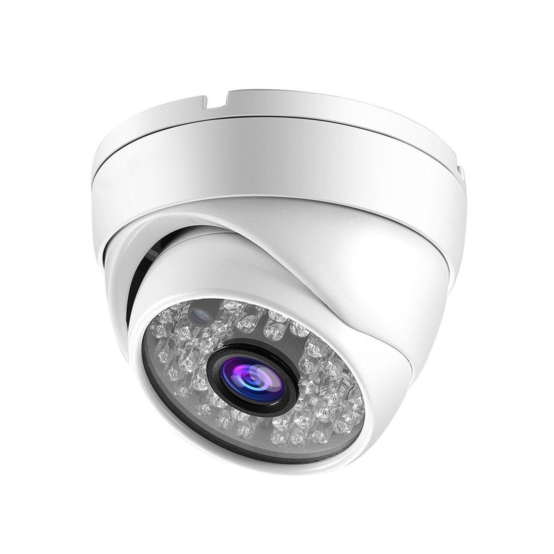 Câmera dome infra IP 2.0 Megapixels 24 leds IP66 Full HD QR Cloud metal externa 1080p - JS Soluções em Segurança