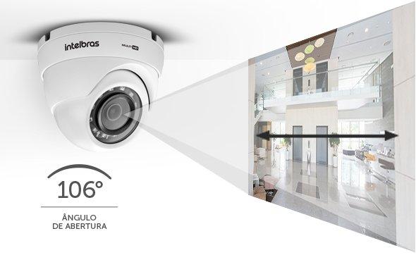 Câmera dome Multi HD HDCVI, AHD-M, HDTVI e Analógico 1/2.7 2.8mm 20mts 106º 1080p VHD 3220 D A G6 - JS Soluções em Segurança