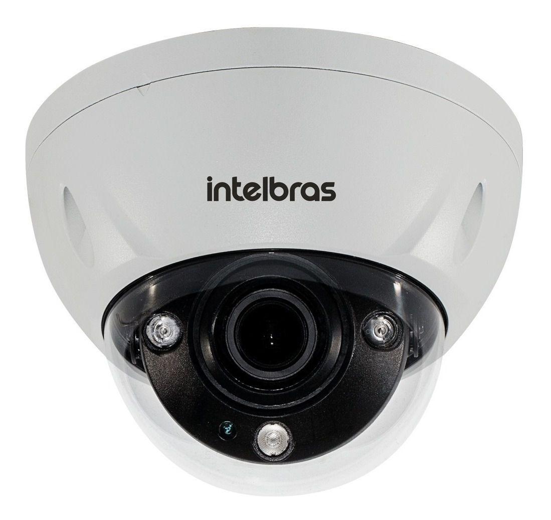 Câmera Dome Profissional IP 4 Megapixels zoom motorizado H.265+ linha virtual,Cerca virtual,Abandono,Retirada de objetos, Detecção de Face, Mudança de cena, VIP 5450 D Z G2 - JS Soluções em Segurança