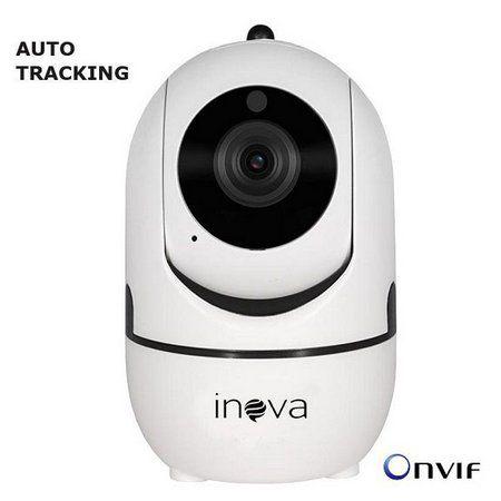 Câmera inteligente Wireless infra IP HD 1.0 megapixel onvif Auto Tracking - JS Soluções em Segurança