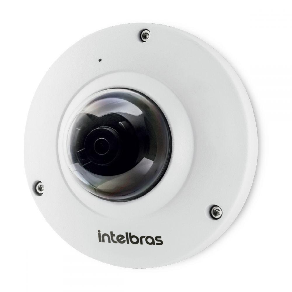 Câmera IP Fisheye intelbras 5 megas linha virtual, cerca virtual e mapa de calor, audio, BLC, WDR, HCL, PoE intelbras VIP 5500 F - JS Soluções em Segurança
