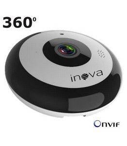 Câmera Panorâmica WiFi 360º Fisheyes 2.0 Megapixels audio Bi-Direcional Full HD 1080p CAM-5706 - JS Soluções em Segurança