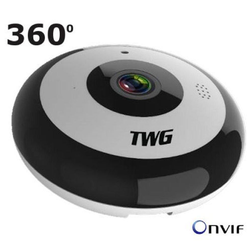 Câmera Panorâmica WiFi 360º Fisheyes 2.0 Megapixels audio Bi-Direcional Full HD 1080p TW-9225 FY - JS Soluções em Segurança