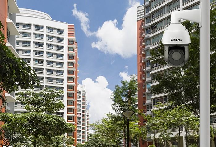 Câmera speed dome HDCVI com infravermelho Zoom óptico 25X Zoom digital 4X Full HD 1080p  intelbras VHD 5225 SD IR - JS Soluções em Segurança