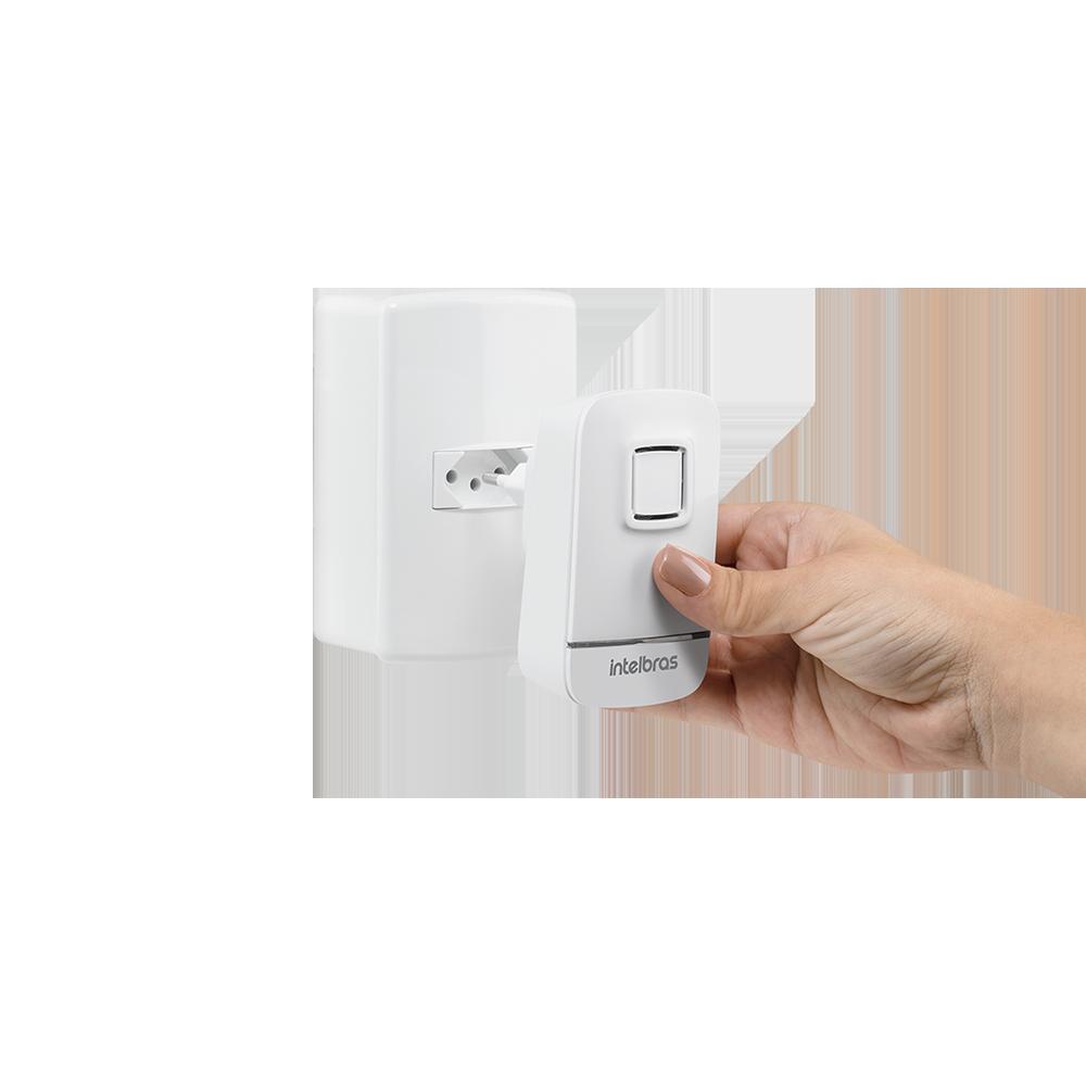 Campainhas sem fio com bateria intelbras Bivolt  CIB 100  - JS Soluções em Segurança