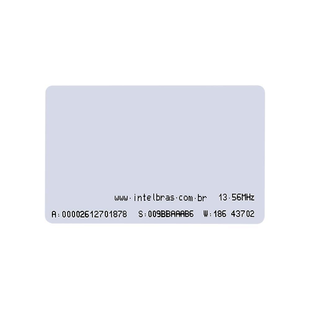 Cartão de acesso por proximidade intelbras RFID 13.56 MHz TH 2000 MF - JS Soluções em Segurança