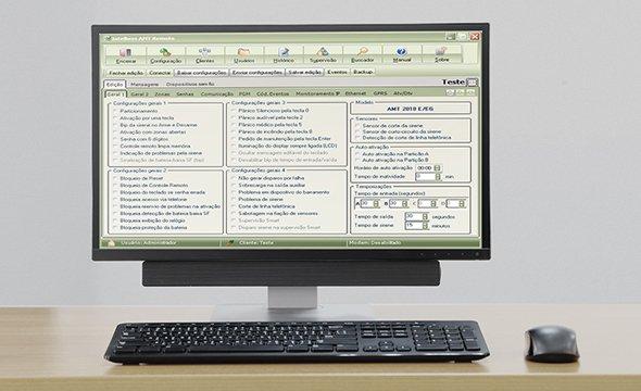Central de Alarme Monitorada Intelbras AMT 2018 E 3G - JS Soluções em Segurança
