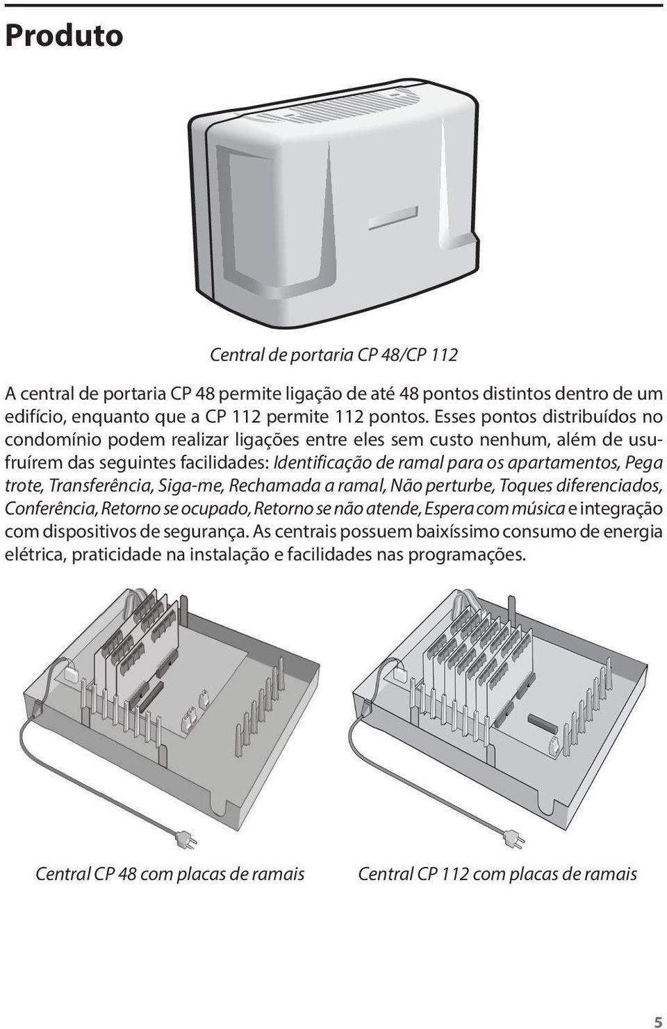 Central de comunicação condominial intelbras CP 112 - JS Soluções em Segurança