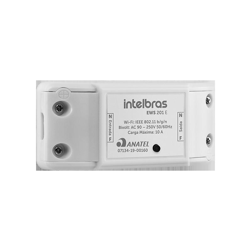 Controlador inteligente para ambientes Wi-Fi EWS 201 E Intelbras - JS Soluções em Segurança