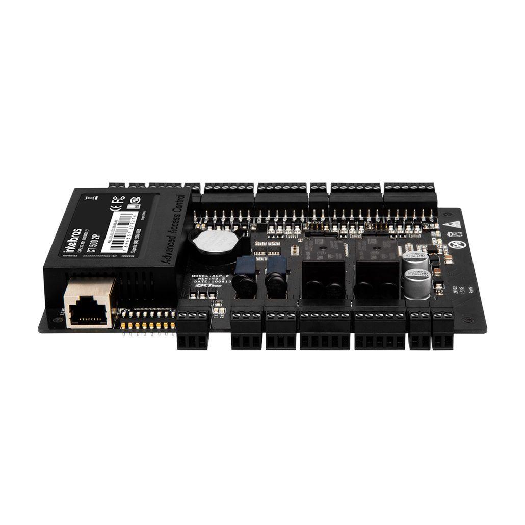 Controladora de acesso intelbras gerenciável por software CT 500 2P - JS Soluções em Segurança