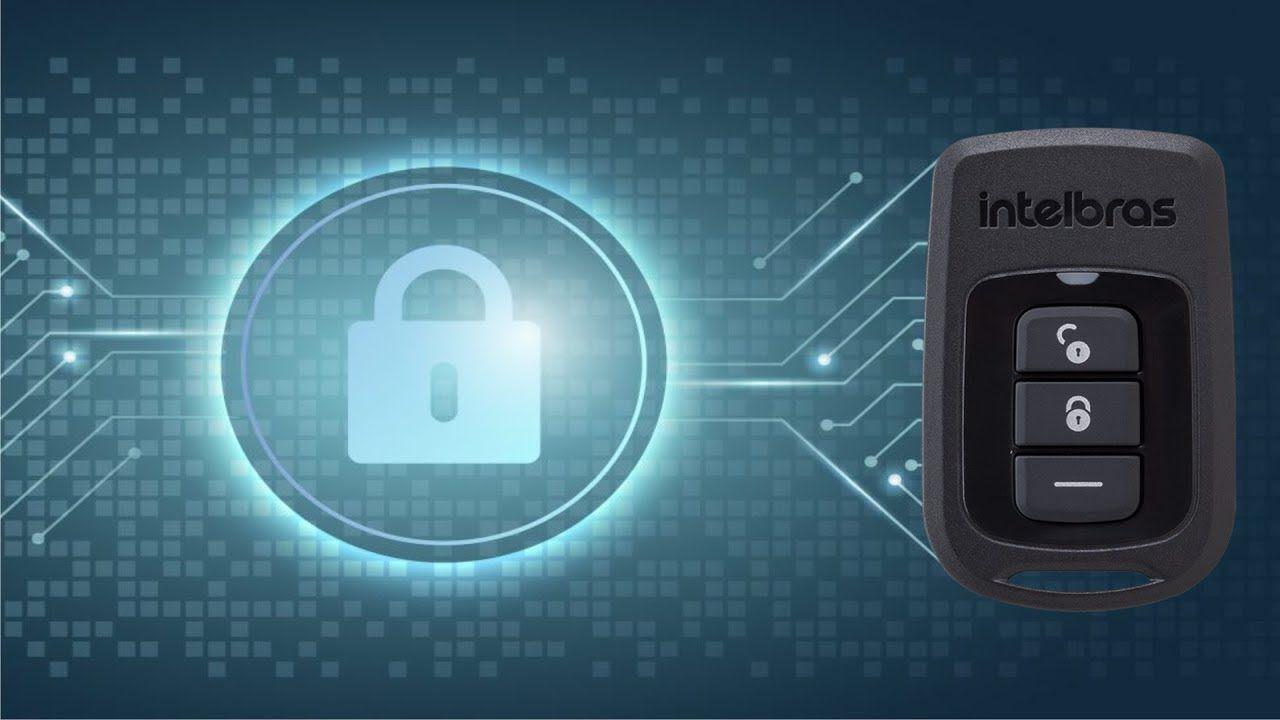 Controle remoto intelbras XAC 8000  - JS Soluções em Segurança