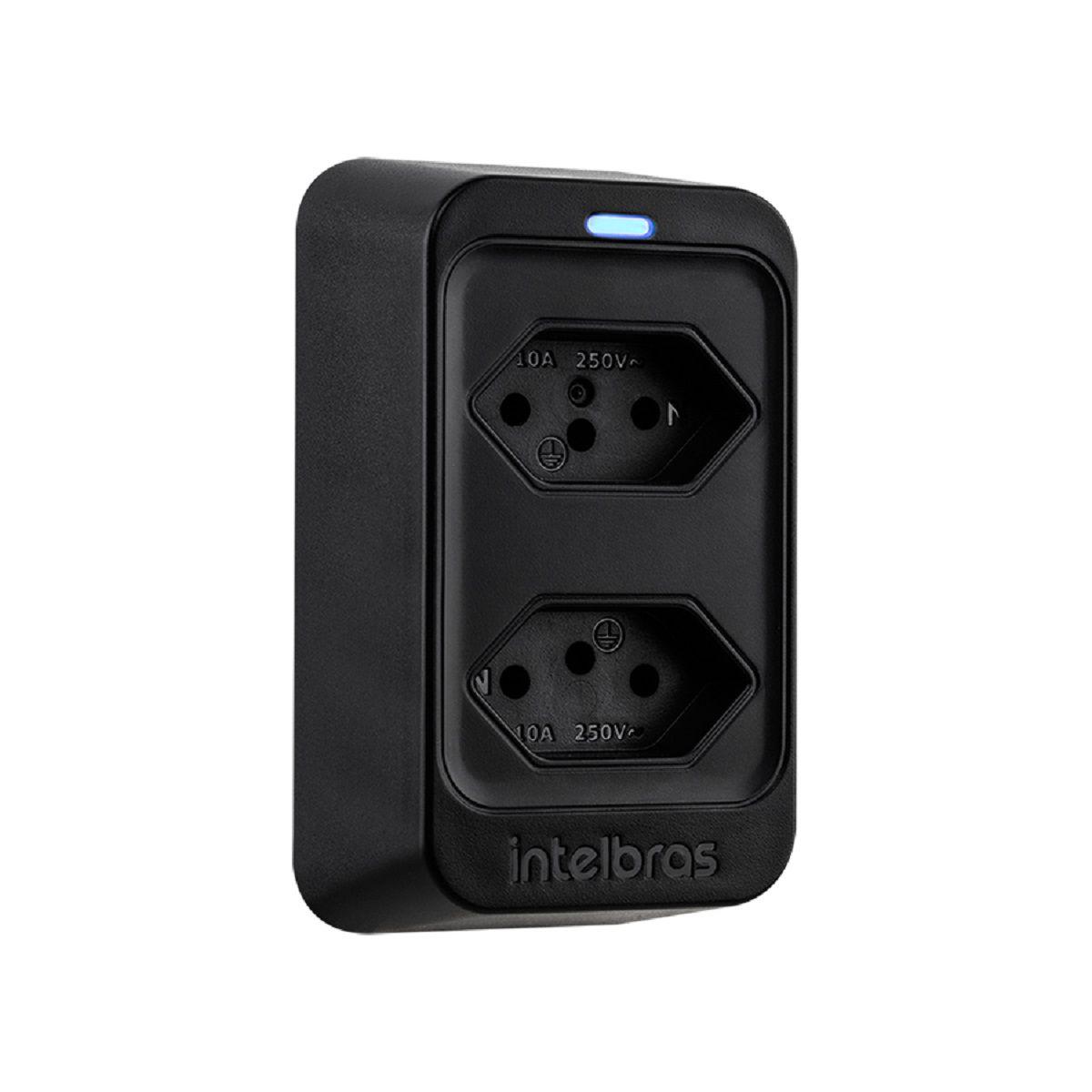 Dispositivo de proteção contra surtos elétricos bivolt intelbras EPS 302  - JS Soluções em Segurança
