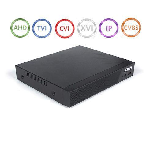 DVR gravador de imagens 8 canais 1920x1080N 2 Megapixels + acesso QR Code nuvem 6 em 1 - JS Soluções em Segurança