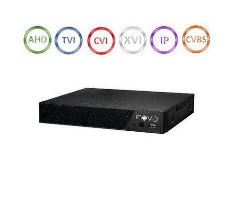 DVR gravador de imagens 8 canais 2 Megapixels + acesso QR Code nuvem H.264 6 em 1 1080N - JS Soluções em Segurança