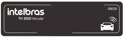 Etiqueta de acionamento RFID 900 MHz TH 3010 veicular  - JS Soluções em Segurança