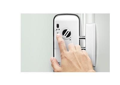 Fechadura Digital senha,cartão/ incluso chaveiro de aproximidade Intelbras FR 201 - JS Soluções em Segurança