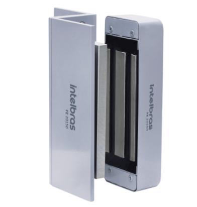 Fechadura Eletroímã 150 kgf FE 20150 sem sensor ( porta abrir para dentro)  - JS Soluções em Segurança