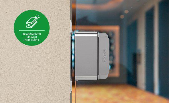 Fechadura solenoide fail safe intelbras vidro ou alvenaria FS 3010 A  - JS Soluções em Segurança