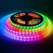 Fita LED Inteligente RGB 16 milhões de cores Wi-Fi 5mts 12V Avulsa - JS Soluções em Segurança