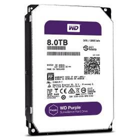 HD Interno WD Purple 8 TB Surveillance 24hs para CFTV   - JS Soluções em Segurança