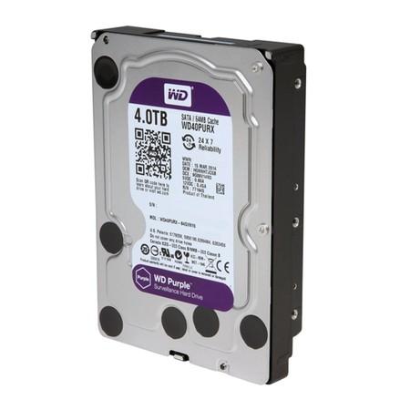 HD interno WD Purple 4 TB Surveillance 24hs para CFTV  - JS Soluções em Segurança