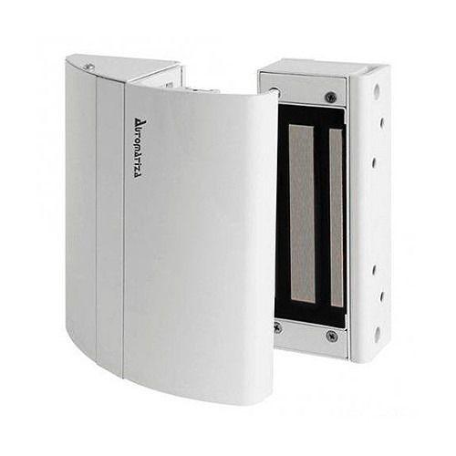 Kit Elite Fechadura Eletroima FS 150 12V com sensor branco - JS Soluções em Segurança