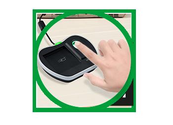 Leitor cadastrador biométrico intelbras 125 khz e 13.56 Mhz CM 350  - JS Soluções em Segurança