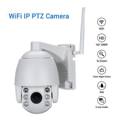 Mini câmera Speed dome infra IP 2 megapixels com audio Wifi zoom 4X Ópticos ONVIF 1080p  - JS Soluções em Segurança