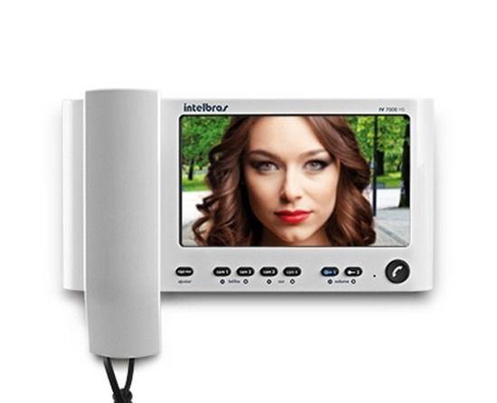 Módulo interno para o video porteiro com fone Intelbras IV 7000 HANDSET IN - JS Soluções em Segurança