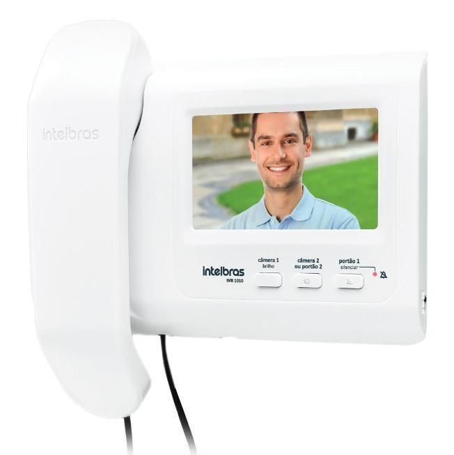 Módulo interno para video porteiro IVR 1010 IN intelbras - JS Soluções em Segurança