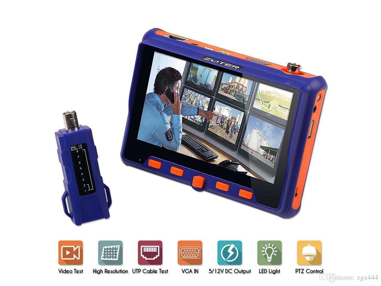 Monitor de Teste para câmeras Analógicas e AHD-M - JS Soluções em Segurança