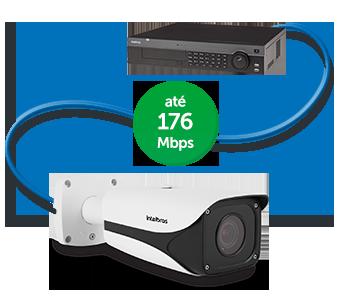 NVD Gravador intelbras 32 câmeras IP até 12 Megapixels - NVD 7132 4k - JS Soluções em Segurança